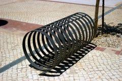 Scaffale della bici Fotografie Stock