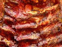 Scaffale delle costole del BBQ Immagine Stock Libera da Diritti