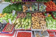 Scaffale delle verdure Immagini Stock Libere da Diritti
