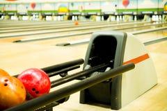 Scaffale di bowling Immagine Stock Libera da Diritti