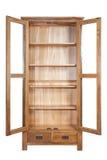 Scaffale di legno immagine stock