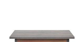 Scaffale di legno per fondo Fondo per il concetto dell'esposizione del prodotto Immagine Stock Libera da Diritti