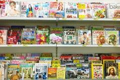 Scaffale di negozio immagini stock libere da diritti