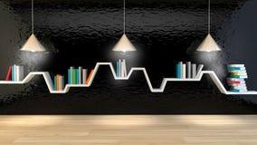 Scaffale minimalista Fotografie Stock Libere da Diritti