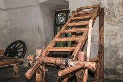 Scaffale nella camera di tortura Immagine Stock Libera da Diritti