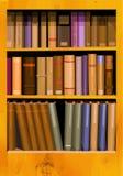 Scaffale per libri Fotografie Stock