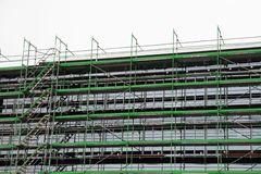 Scaffold Royalty Free Stock Photo