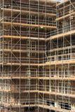 Scaffold. Scafford on a building Royalty Free Stock Photography
