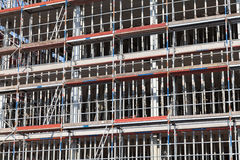Scaffold background Stock Photography
