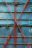 Scaffold of building Stock Photo