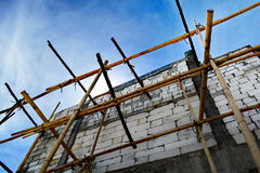 Scaffold for building Stock Images