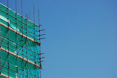 Scaffold on a construction site  Stock Images