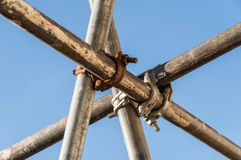 Scaffold detail Royalty Free Stock Photography