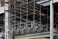Scaffold Frame Stock Image