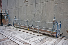 Scaffold platform Royalty Free Stock Photo