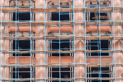 Scaffold or scaffolding, Building under Royalty Free Stock Image