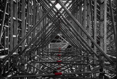 Scaffold Triangles Royalty Free Stock Images