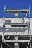 Scaffold in a workplace Stock Image