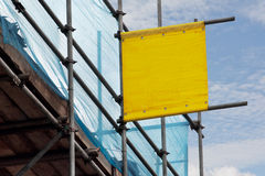 Scaffolders sign Royalty Free Stock Photo