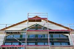 scaffolding royaltyfri foto