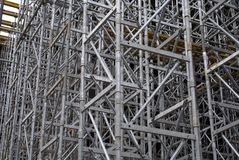Scaffolding 2 Royalty Free Stock Photo
