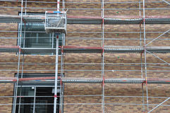 Scaffolding stock photography