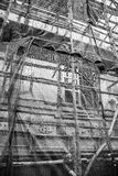 scaffolding Arkivbild