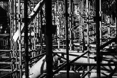 scaffolding Arkivbilder