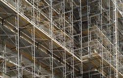 Scaffolding. On building in Philadelphia Stock Photo
