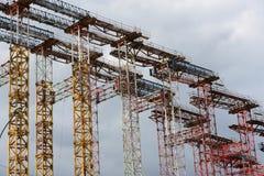 scaffolding Arkivfoton