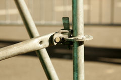 Scaffolding as Safety Equipment on a Construction Site Royalty Free Stock Image