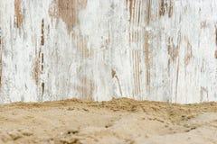 Scaffolding on the beach Stock Photos