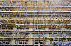 Scaffolding at the British Museum Royalty Free Stock Photography