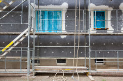 Scaffolding on building Stock Images
