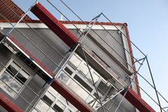 Scaffolding on building Royalty Free Stock Images