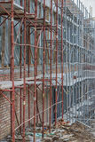 Scaffolding on building 2 Stock Image