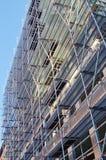 Scaffolding building under construction Stock Photo