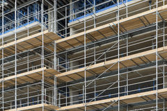 Scaffolding - building work, London, UK Royalty Free Stock Photography