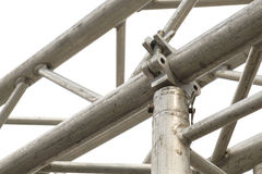 Scaffolding clamps. Royalty Free Stock Photo