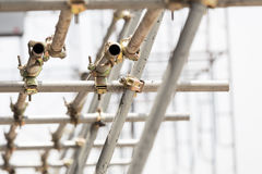 Scaffolding Clamps Stock Image
