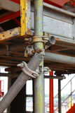 Scaffolding clamps Royalty Free Stock Photos
