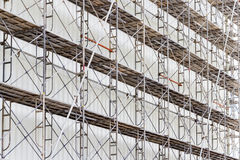 Scaffolding for construct a building under construction. Scaffolding for construct a building under construction Stock Photos