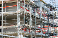 Scaffolding, construction Stock Image