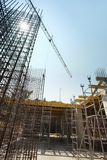 Scaffolding, construction site Royalty Free Stock Photo