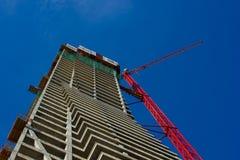 Scaffolding, construction site Stock Photos