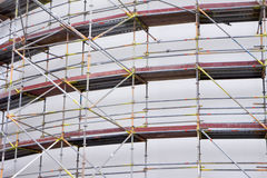 Scaffolding at Construction Site Royalty Free Stock Photography