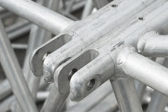Scaffolding on a Construction Site Royalty Free Stock Photo