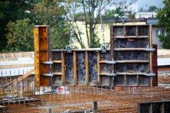 Scaffolding, construction site Stock Photo