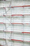 Scaffolding, construction site in progress Stock Photography
