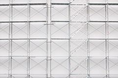 Scaffolding on a construction site Royalty Free Stock Images